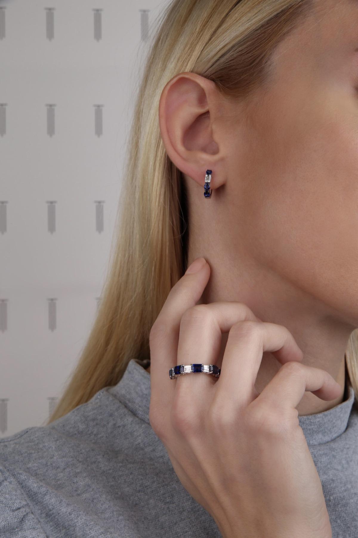 σκουλαρικια ζαφειρι δαχτυλιδι με ζαφειρι