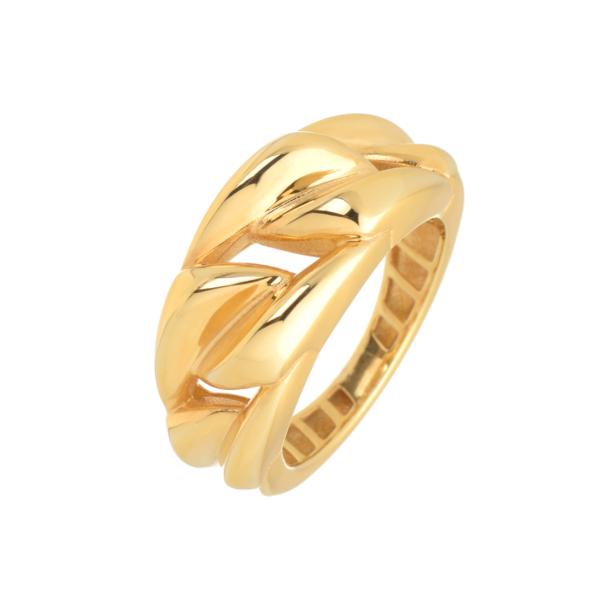 χρυσο δαχτυλιδι πλεκτο κοσμημα