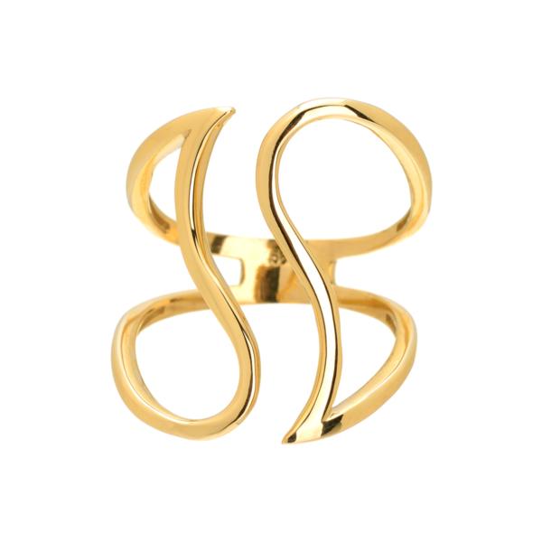 χρυσο δαχτυλιδι, εντυπωσιακο κοσμημα για γυναικα