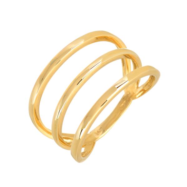 χρυσο δαχτυλιδι με γραμμες