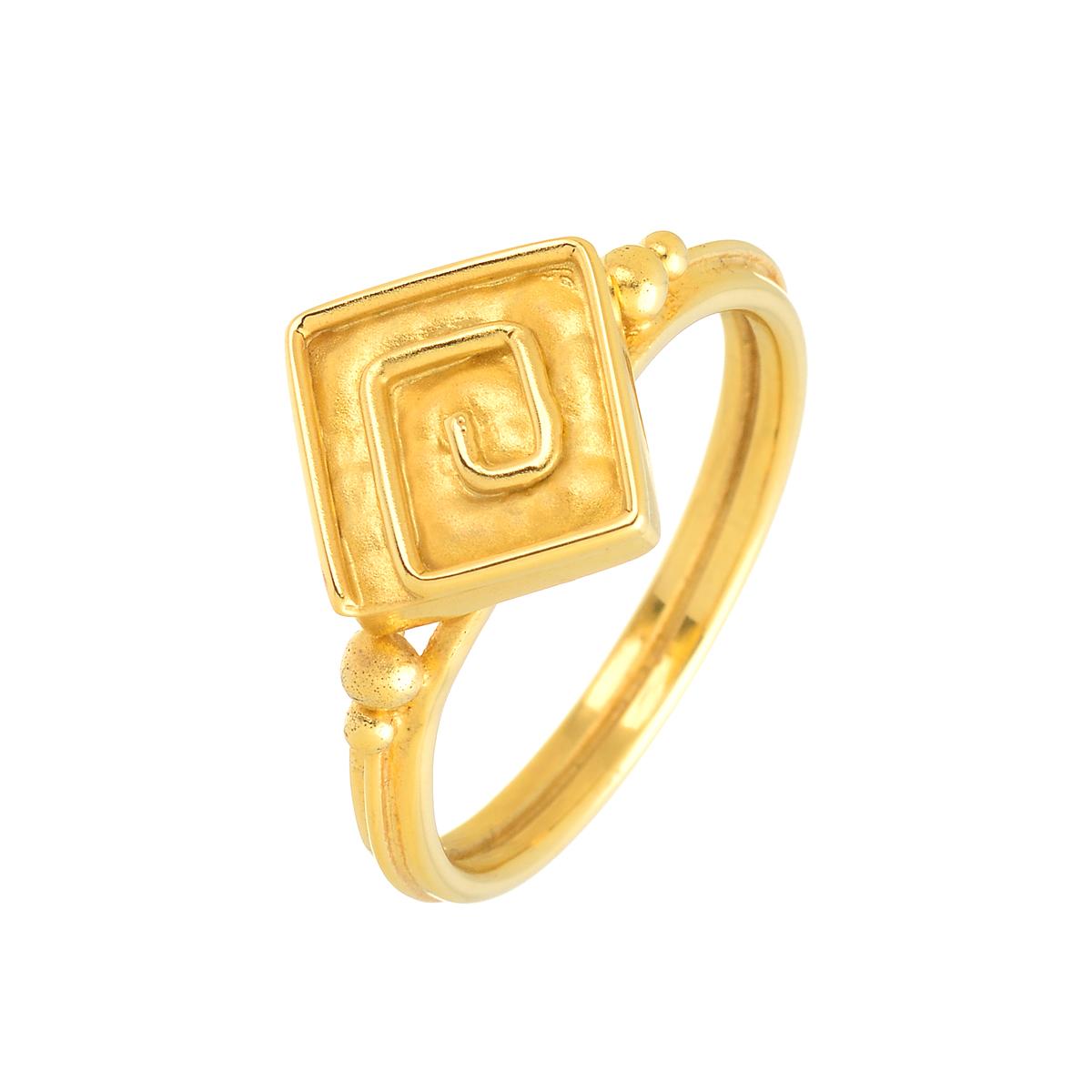 δαχτυλιδι χρυσο βυζαντινο