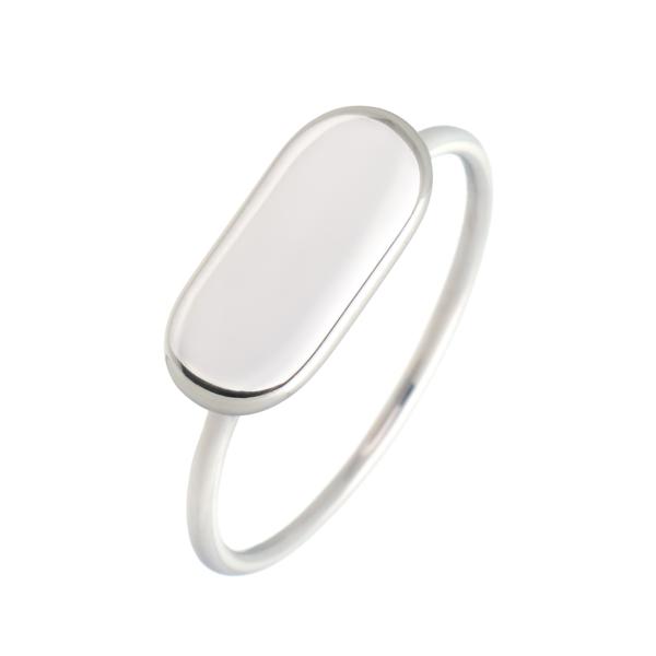 δαχτυλιδι λευκοχρυσο