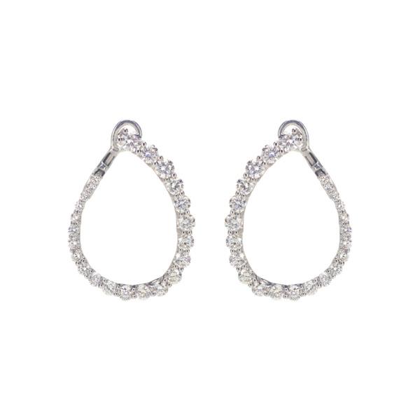 σκουλαρικια καρφωτα με διαμαντια, λευκοχρυσα κοσμηματα